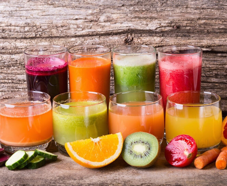 Fresh juices and jams